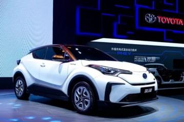 中看还顶用丰田纯电小SUV能跑400公里
